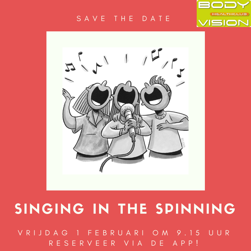Singing in the spinning